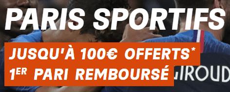PMU bonus de bienvenue paris sportifs