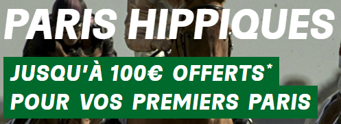 PMU bonus de bienvenue paris hippiques